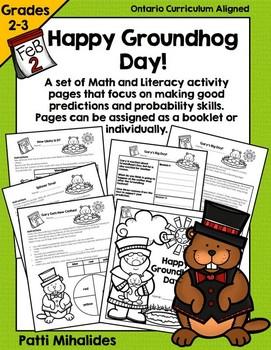 Groundhog Day booklet/worksheets