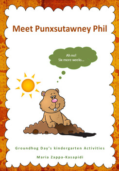Groundhog Day's Kindergarden Literacy and Maths Activities
