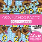 Groundhog Facts Banner {Bunting, Garland, Pennant Display}
