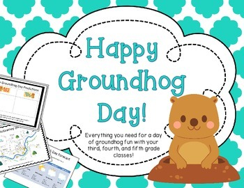 Groundhog Day Pack: A day of Groundhog Fun for 3rd, 4th, &