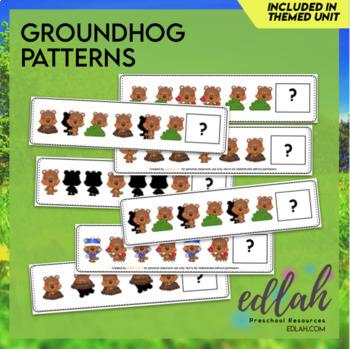 Groundhog Patterning Cards