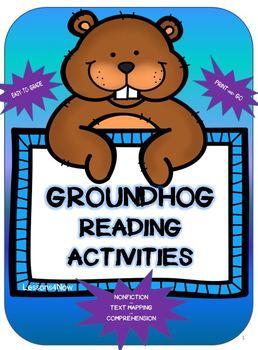 Groundhog Reading Activity Packet