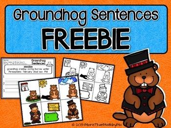 Groundhog Sentences FREEBIE