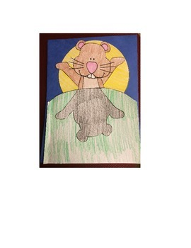Groundhog Shadow Book Craftivity