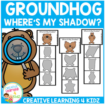 Groundhog Shadow Clip Cards