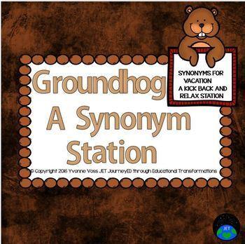 Groundhog Synonym Station