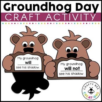 Groundhog's Day Craftivity