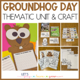 Groundhog's Day Thematic Unit and Craft