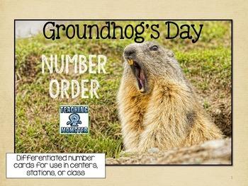 Groundhog's Day Number Order