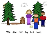 Groundhog's Day Sight Word Reader