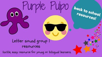 Group 1 Letter Sound writing, reading and blending sheets.