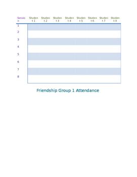 Group Attendance Worksheet