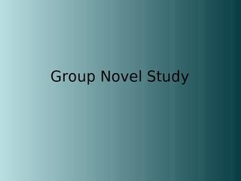 Group Novel Study (GNS) PPT