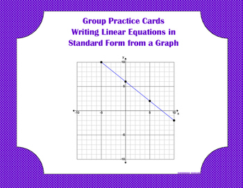 Group Practice Cards - Standard - PP