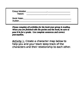 Group Reading Questions (Easy)