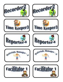 Group Role/Job Labels