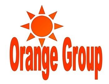 Group Sign- Orange