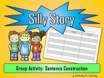 Group Story-Writing Template