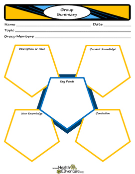 Group Project Summary -  Graphic Organizer