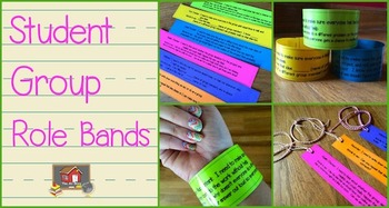 Group Work Student Role Bands