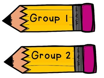 Group signs- Pencils