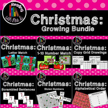 Growing 8+ Christmas Centers Bundle