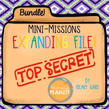 Ultimate Bundle of Mini-Missions Fun Critical Thinking Act