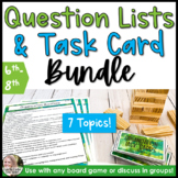 Growing Counseling Game Prompts Bundle 6th-8th