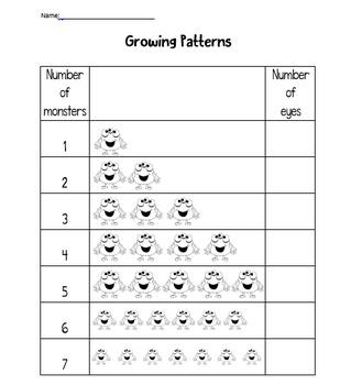 Growing Patterns -- FREEBIE