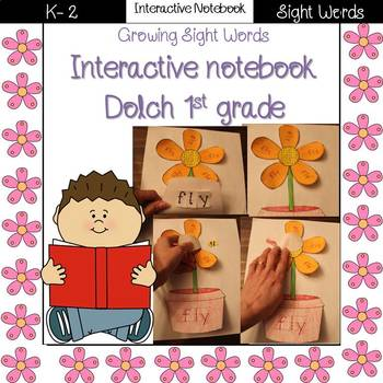 Growing Sight Words Interactive Notebook {Dolch 1st grade}