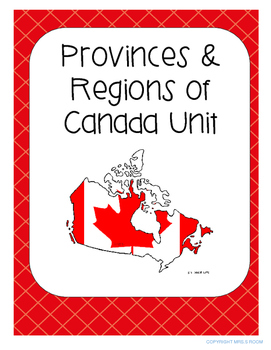 Canada's Provinces and Regions Growing UNIT - Reduced Pric