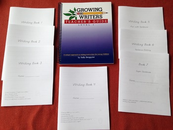Growing Writers Step by Step Writing Instruction for 1st G