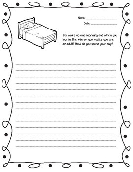 Growth Measurement Writing Prompt