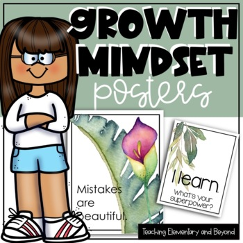 Growth Mindset Posters {Second Pack}