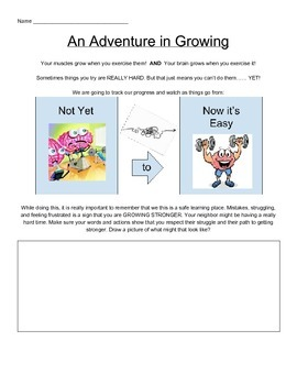 Growth Mindset Math Activities