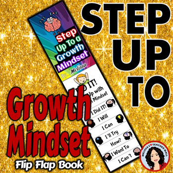 Growth Mindset Activity Flip Flap Book