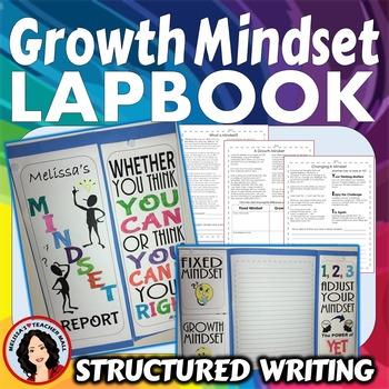 Growth Mindset Activity Lapbook