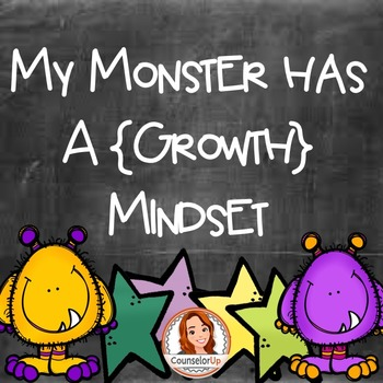 Growth Mindset Booklet Activity by Counselor Up
