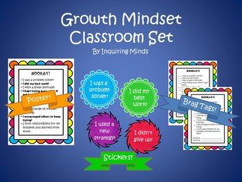 Growth Mindset Classroom Set