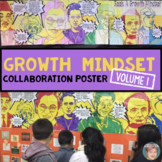 """Famous Faces"" Growth Mindset Poster - Great Collaborative"