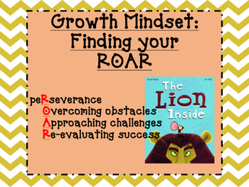 Growth Mindset/Fixed Mindset Activity Pack-Finding your Ro