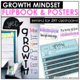 Growth Mindset Flipbook & Posters