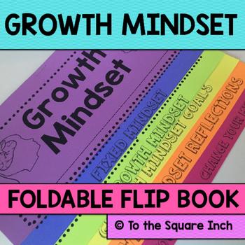 Growth Mindset Foldable Flip Book