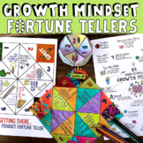 Growth Mindset Fortune Teller Games *Fun for Growth Mindse