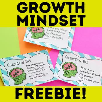 Growth Mindset Freebie