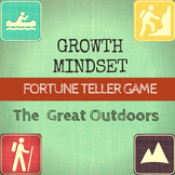 Growth Mindset Game Fortune Teller: The Great Outdoors