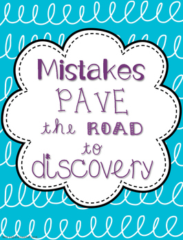 Growth  Mindset Inspirational Poster (Road to Discovery)