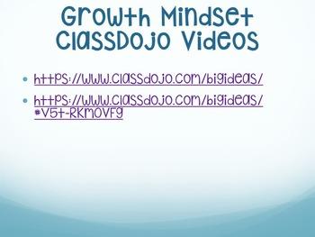 Growth Mindset Interactive Presentation