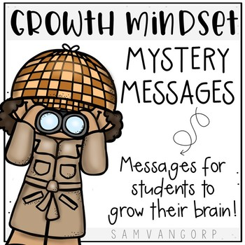 Growth Mindset Mystery Messages