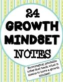 Growth Mindset Notes